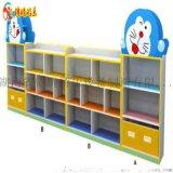小熊造型玩具柜 组合玩具柜 幼儿园玩具收纳柜