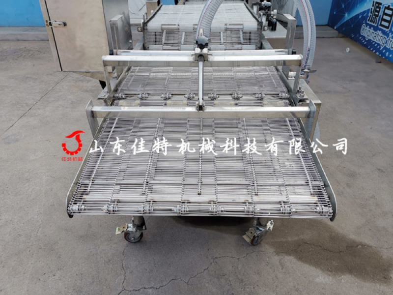 潛入式藕盒浸漿機, 大產量藕盒加工設備