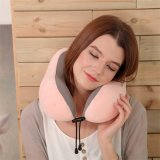 u型护颈旅行枕脖子颈椎靠枕记忆棉飞机睡枕午休神器