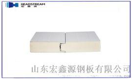 聚氨酯封边岩棉夹芯板多少钱一平方米