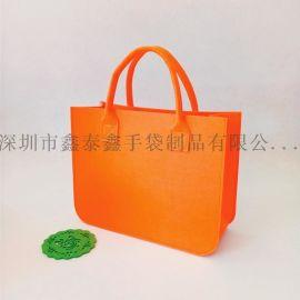 工厂生产轻便实用化纤毛毡袋