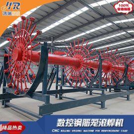 数控钢筋笼滚焊机山东济宁钢筋加工企业产品质量好