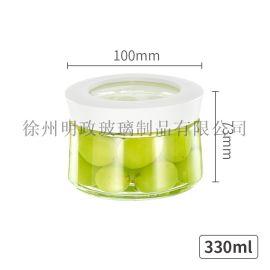 玻璃密封罐柠檬泡 瓶蜂蜜瓶果酱储物带盖食品罐子