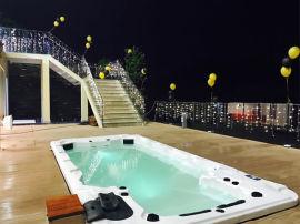 广东家用一体式泳池-家庭水疗泳池非土建-养生温泉泳池