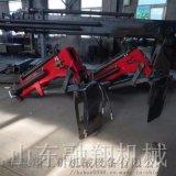 生产改装全液压叉车吊臂吊车 四驱叉车越野加装吊臂