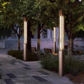湖南厂家定制LED景观灯广场方形中式园林景观灯立柱
