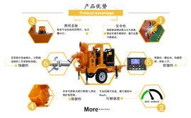 柴油抽水泵400方水流量每小时 抽泥浆可用