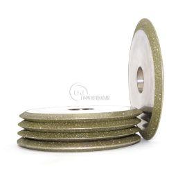 进口料一体式双斜边90度剪刀刃磨立方氮化硼砂轮