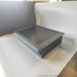 19寸钢面板前面板带按键工业一体机工业平板电脑