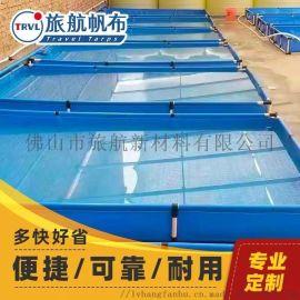 家用游泳水池 儿童折叠泳池帆布 户外水池