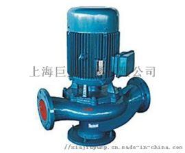 GW管道式高效无堵塞排污泵 离心泵 上海巨晟