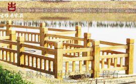 成都水泥仿木纹栏杆定制厂家