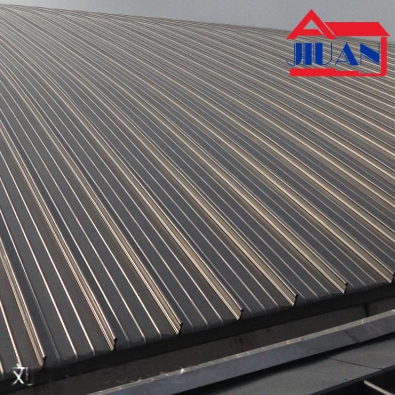 0.9mmXY65-430铝镁锰合金立边咬合屋面板