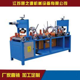 厂家直销铝型材覆膜机新款升降调节圆弧面型材贴膜机