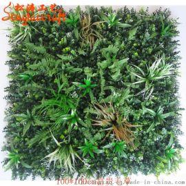 仿真草皮哪家好松涛工艺仿真草坪厂家室内装饰植物墙