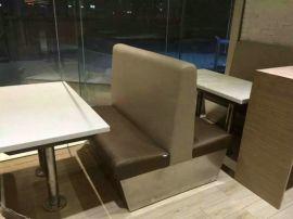 大理石餐桌,茶餐厅桌椅定制,卡座沙发图片