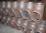 廠家供應大口徑對焊三通高壓管件異徑定製三通Y型三通