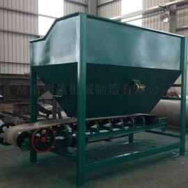 整套有机肥生产线工艺铲车料仓的使用