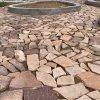 不規則文化石地磚河北板岩碎拼鋪地石