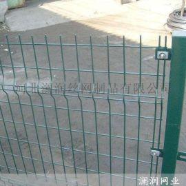 石家庄绿色光伏双边丝护栏 公路隔离护栏网
