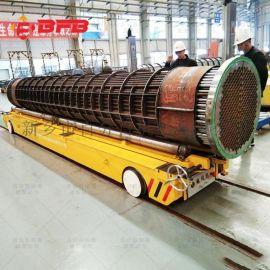 43吨无导轨工件搬运车75吨手推平板车