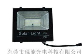 户外led太阳能投光灯庭院灯智能摇控太阳能投光灯