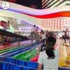天黑後玩網紅橋搭配炫彩燈光更加受人矚目受歡迎