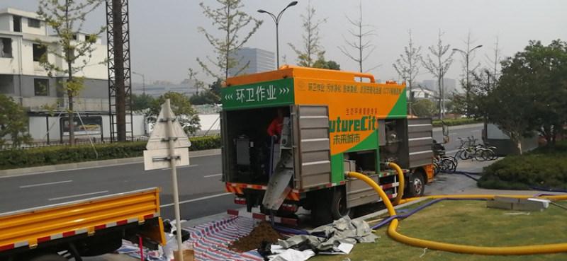 新型环保吸粪车 粪便环保处理车