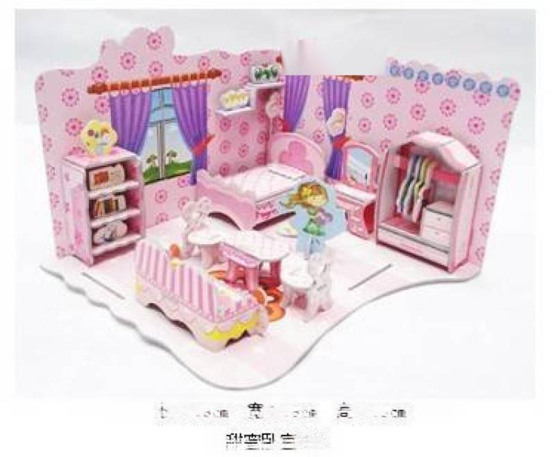 10元模式庙会夜市热销3d立体拼图益智玩具价格