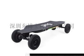 东博士四轮电动滑板车越野双驱一车两用