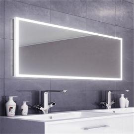 浴室方形镜子 百澜菲卫浴镜 酒店智能镜厂家供应