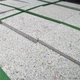 虾红喷砂人行道板 喷砂面虾红平板
