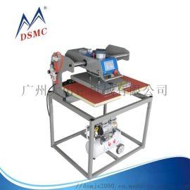 气动架空烫画机,移头式成衣烫画机 双工位自动烫画机