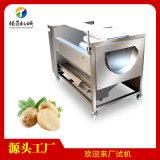 毛輥式薯類清洗機 胡蘿蔔芋頭土豆去皮清洗機