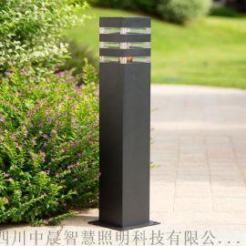 LED草坪灯柱头庭院户外防水简约现代庭院灯