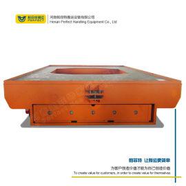 南京蓄电池电动平板 搬运工业用舞台移动轨道台车
