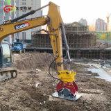 挖机平板夯土机 混凝土平面修整压实夯机