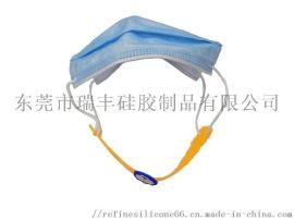 厂家直销 现货 可调节松紧护耳软硅胶口罩绑带