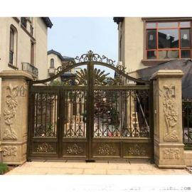 北京门头沟区铝艺庭院门铝艺楼梯加工厂家地址