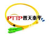 ST-SC 3米万兆光纤跳线双芯OM3尾纤