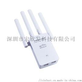 中继器1200M无线WIFI放大器双频路由wifi扩展器5G信号增强器跨境