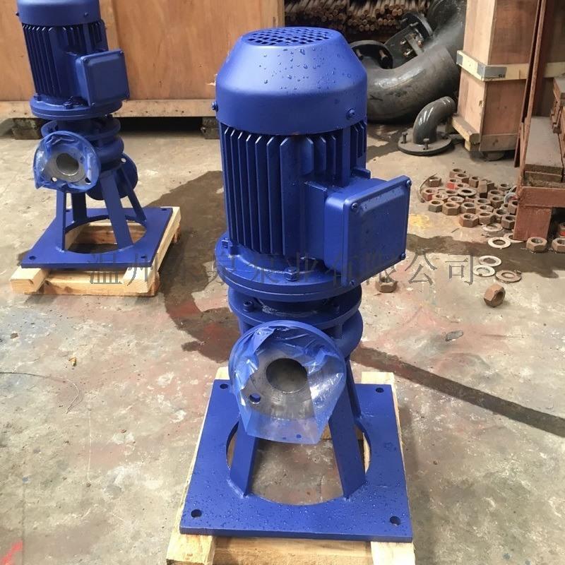 LW直立式无堵塞干式排污泵