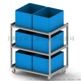 小推車 工具車 平板車 固定式三層平板揀貨車