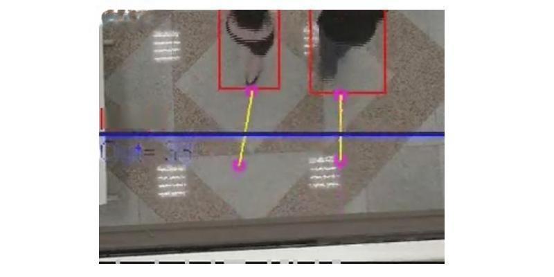 澳门客流计数器  双目立体视觉图像分析客流计数器
