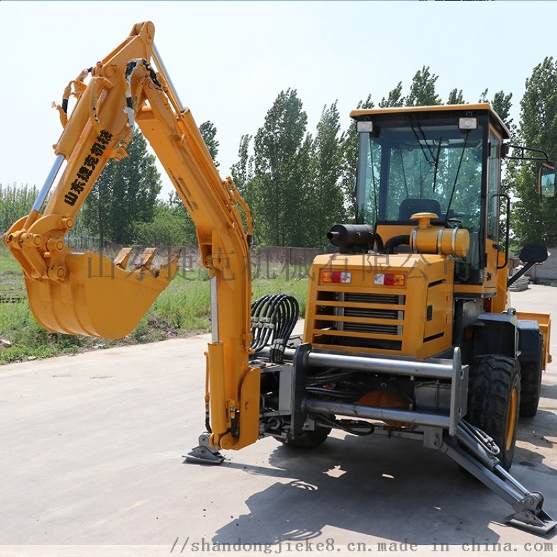 工程用轮式装载机两头忙 捷克 30小型挖掘机铲车