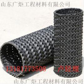 高强硬式透水管 高密度聚乙烯HDPE硬式透水管 PE硬式透水管
