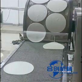 春卷皮机器 合创 连续式春卷皮机 全自动面皮机
