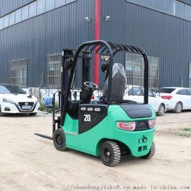 可定制四轮座驾式全电动叉车 捷克2吨电动叉车