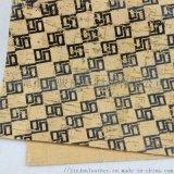 專業生產燙金壓花軟木布 文具用品專用軟木包裝布