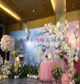 杭州供应广告宣传赠品儿童生日派对氦气球打气服务